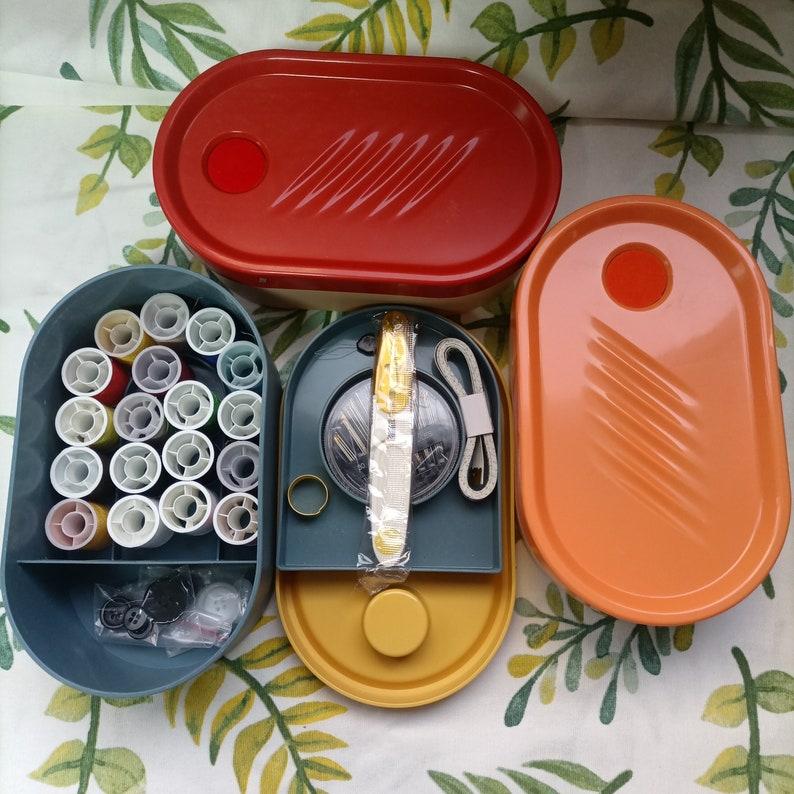 Pin Holes Sewing Kit Storage Box Tailoring Tool for Adult image 1