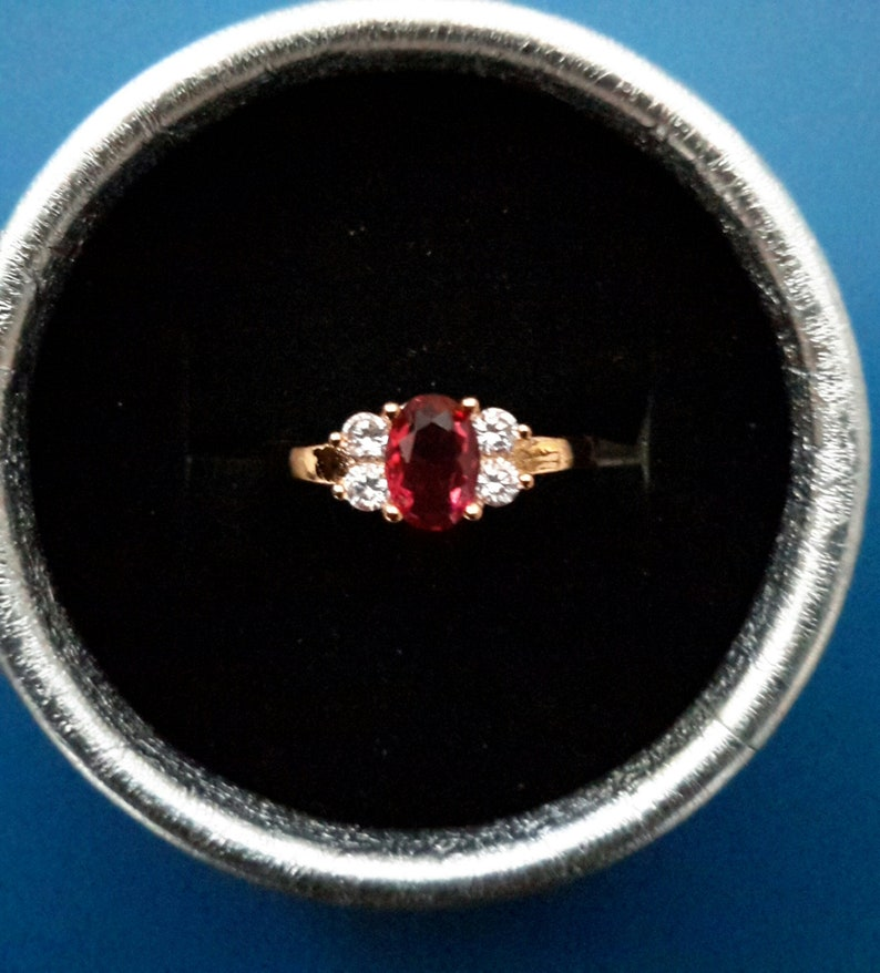 Ruby Gold RingRuby and Sapphire Ring