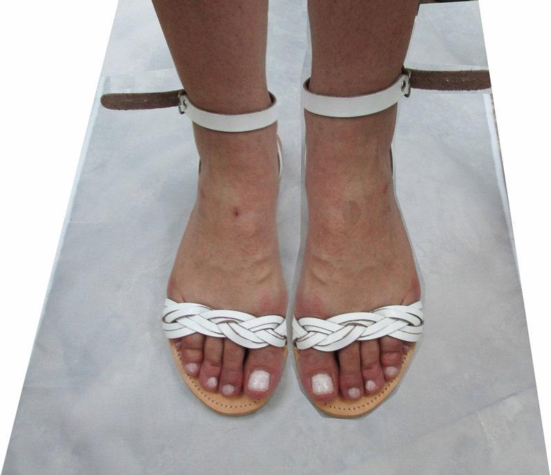 Leather sandals women  Ankle strap sandals  Shoes  Summer sandals  Ancient Greek  Griechische Leder Sandalen