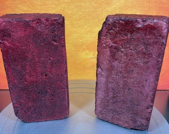 Prop foam brick. Realistic prop brick that is great for Halloween decoration, haunted house prop or cosplay.