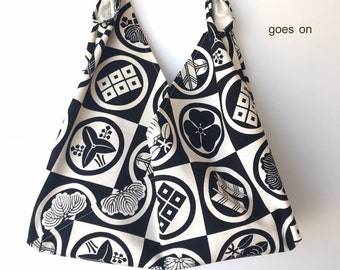 Furoshiki bag Azuma bag Japanese lunch bag Blue paisley Small Tenugui bag Lunch bag Bento bag