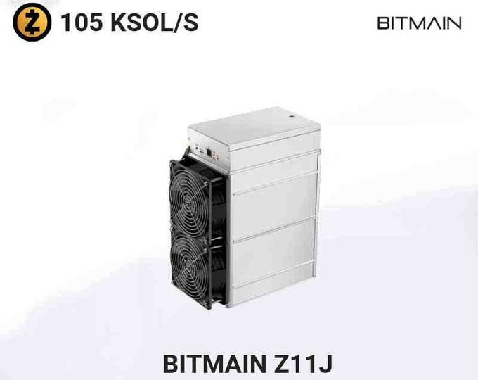 Featured listing image: New BITMAIN ANTMINER Z11J - 105KSOL/S