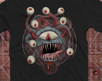Beholder DnD Shirt | Dungeons & Dragons | Slicing and Dicing | Gifts for geeks | Dungeon master (dm) gifts | Geeky dnd shirt