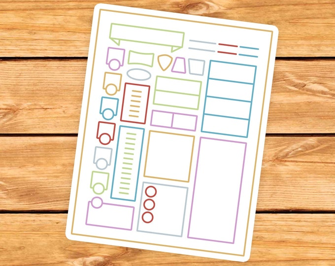 Character Sheet DnD Sticker | Dnd gift | gift for DM's | Dungeons & Dragons