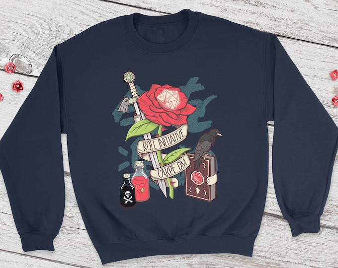Carpe DM Dnd Sweatshirt | DnD | Dungeons and Dragons | DM Gift | Gift for geeks | Dungeon Master