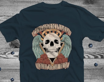 Character Death Dnd Shirt | Dungeons & Dragons | DnD | Gifts for dnd | Dungeon master (dm) gifts | Geeky dnd shirt