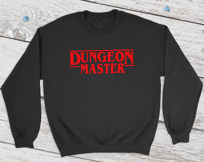 Sranger Dungeon Master sweatshirt | DM | Dungeons and Dragons | DM Gift | Gift for geeks | DnD | Dice