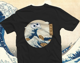 Cookiegana Wave Shirt | Cookie Monster gift | Funny shirt