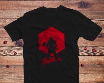 Brutal Barbarian Dnd Shirt   DnD   Gifts for dnd   Dungeon master (dm) gifts   Geeky dnd shirt