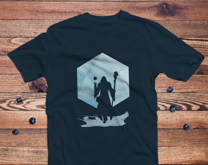 Legendary Wizard/Mage Dnd Shirt | DnD | Gifts for dnd | Dungeon master (dm) gifts | Geeky dnd shirt