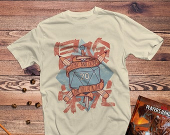 DnD Shirt | Dungeons & Dragons | Slicing and Dicing | Gifts for geeks | Dungeon master (dm) gifts | Geeky dnd shirt