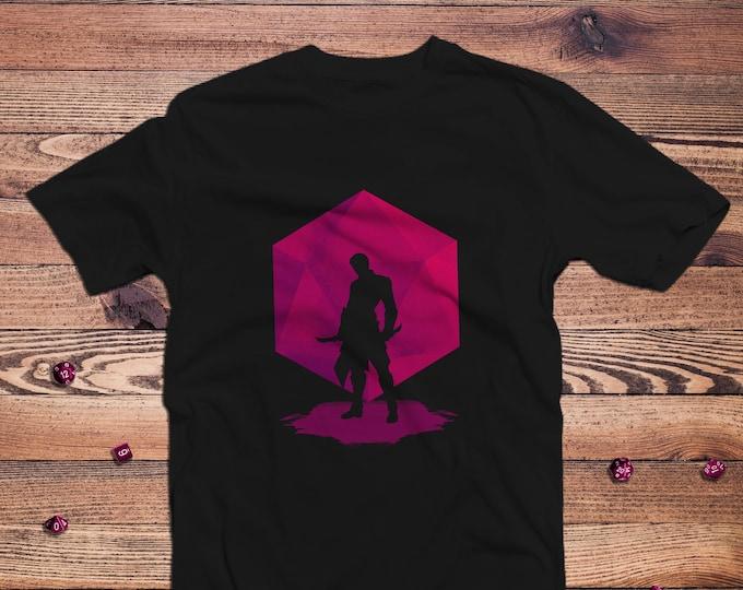 Shadow Rogue Dnd Shirt | DnD | Gifts for dnd | Dungeon master (dm) gifts | Geeky dnd shirt