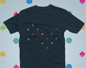 Minimal dice wave dnd Shirt | Dungeons & Dragons  | Gifts for geeks | Dungeon master (dm) gifts | Geeky dnd shirt | dnd gifts