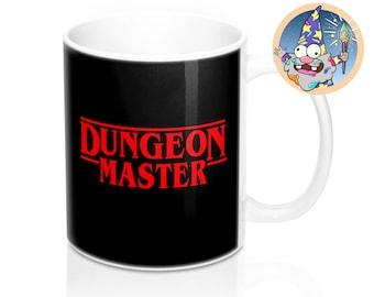 Dungeon Master Mug | Dnd gift | GM | Dungeons & Dragons | Dice | DM gift