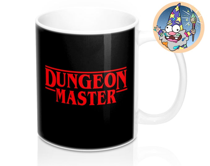 Dungeon Master Mug | Dnd gift | GM | Dungeons & Dragons | Dice | DM gift