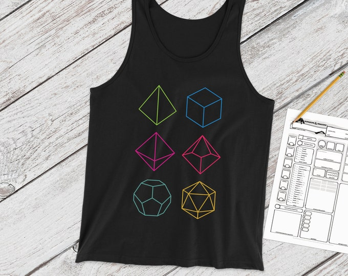 Minimal DnD tank | Dice | Dungeons and Dragons | DM Gift | Gift for geeks | DnD | Dice