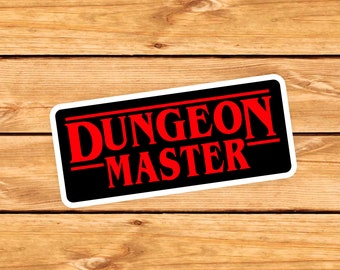 Dungeon Master DnD Sticker | DM gift | GM | Dungeons & Dragons | RPG