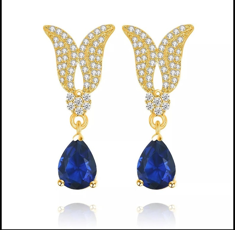Amethyst Emerald,Ruby,Sapphire Gemstone earrings