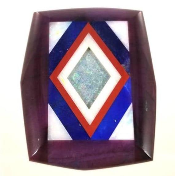 Gemstone Intarsia