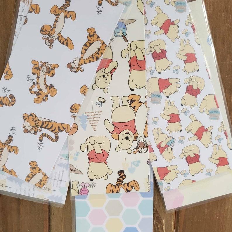 Coupon Envelopes Tigger Baby Steps Winnie the Pooh Cricut Paper Dave Ramsey Cash Money Envelopes Laminated Envelope