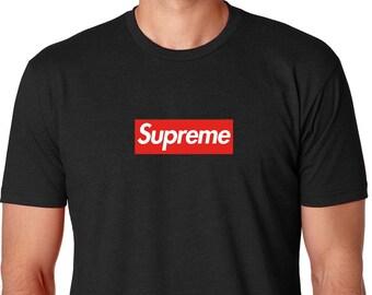 eb38f56caddf Black Supreme Shirt,Supreme Shirt,Unisex Supreme,Supreme logo,Supreme Box  logo,Boxlogo Shirt,Supreme Gift,Supreme Wear,Supreme Clothing