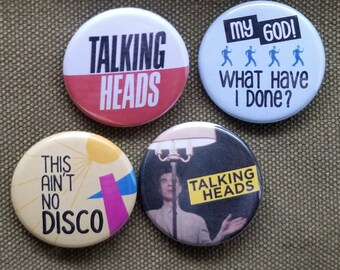 Devo Pin Vintage Button Original Enamel Badge Music Lapel Pinback Energy Pins