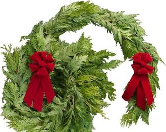 Christmas Garland   Fresh Cedar Garland