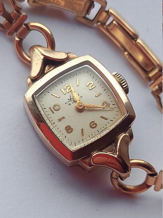 Women's Avia vintage wristwatch, unique gift ideas