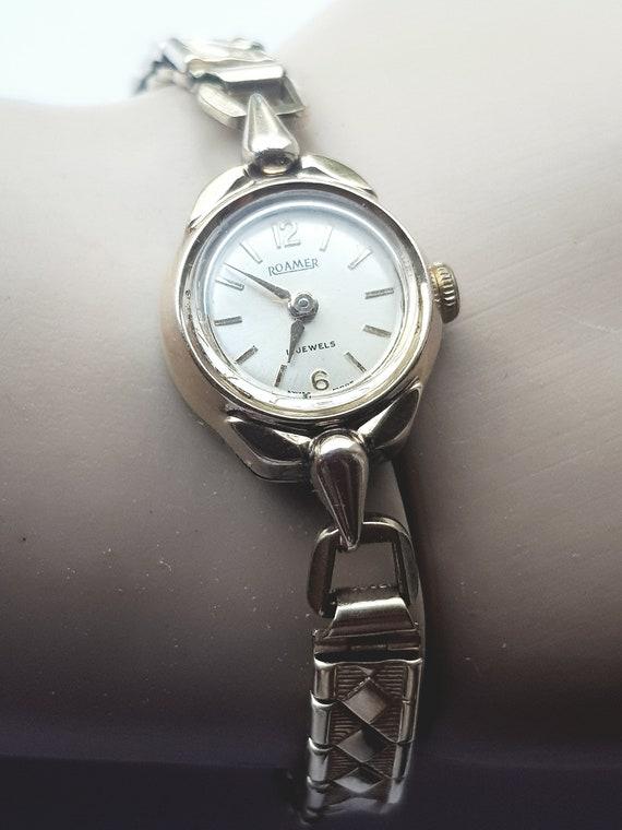 Women's vintage roamer wristwatch, unique gift ide