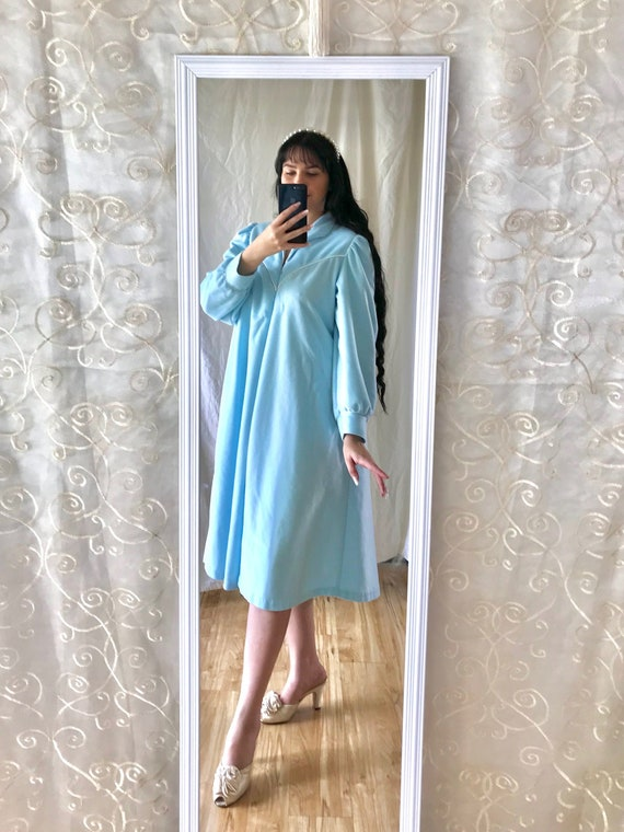 Vintage 1980's Christian Dior Night Gown | Baby Bl