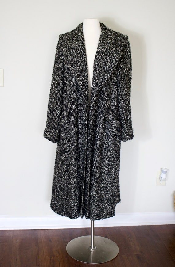 Vintage 50's Swansdown Coat | 50's Virgin Wool Coa