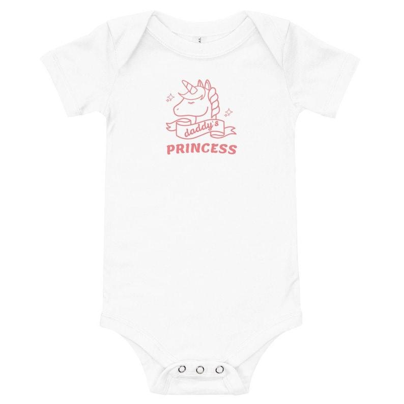 Daddy/'s Princess Baby One Piece Bodysuit