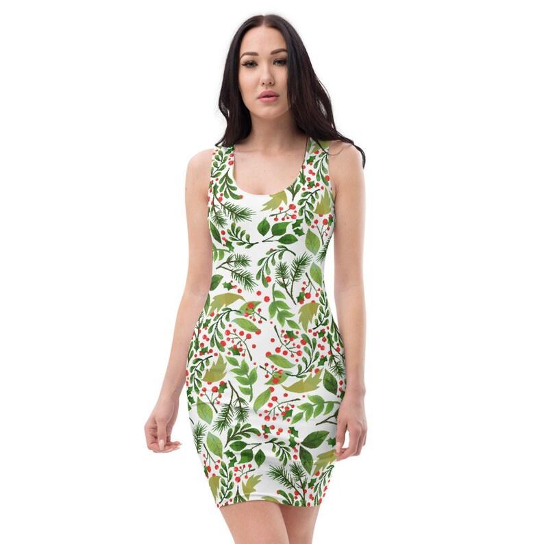 Sublimation Cut /& Sew Dress Forest Floor