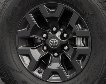 2016-2019 Toyota Tacoma TRD Off Road Wheel Decals with Center Cap Inlays
