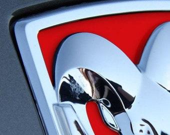 Premium Cast Vinyl Inlay Decals for 2013-2018 RAM 1500/2500 Tailgate Emblem