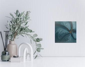 Bloom Original Fluid Art Painting