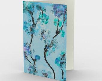 Fairy Garden Blank Card. Art Card. Gift for Her. Gift for Him. Original Artwork
