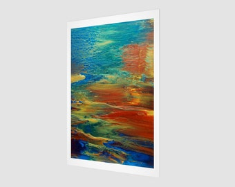 Earth's Grace Art Print.  Wall Art.  Wall Décor.  Wall Decoration.  World