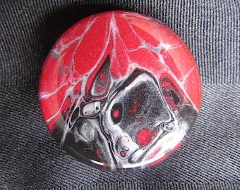 Red & Black Resin holder/stand, Custom Grip, Gift for Her, Gift For Friend, Gift for Him, Multimedia Holder