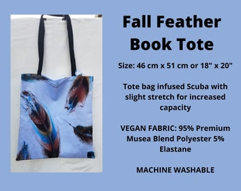 Fall Feathers Tote