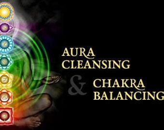 Aura Cleansing & Chakra Balancing Session