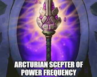 Arcturian Scepter of Power Frequency Session