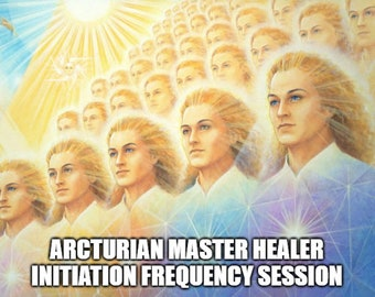 Arcturian Master Healer Initiation Frequency Session