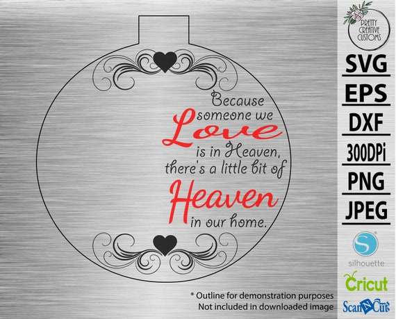 Because Someone We Love Is In Heaven There Is A Little Bit Of Etsy