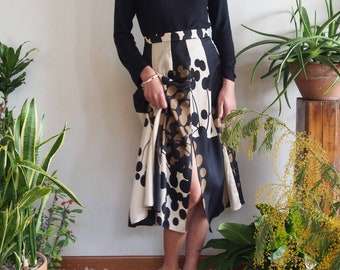 Midi skirt with towels