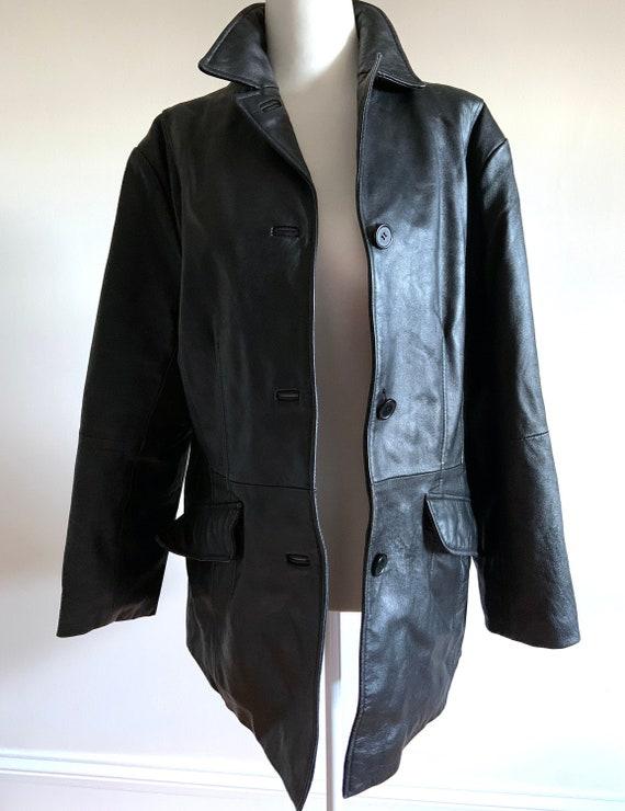 Vintage 1980s Leather Jacket