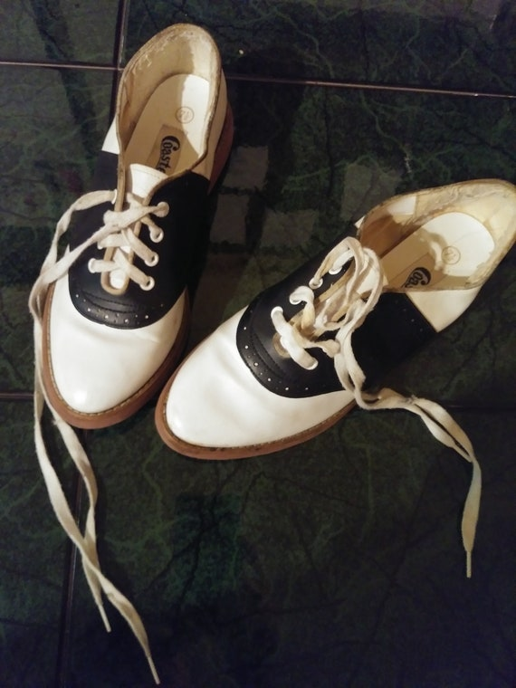 Vintage Athentic 50s Saddle shoes