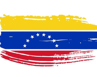 Venezuela distressed flag, SVG, dxf, png, cricut, cameo