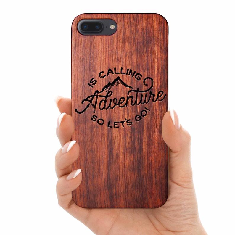 Adventure calling iPhone 12 pro Case iPhone 12 Case wooden iPhone 7 Phone Cover Case wood iPhone 8  Case iPhone Case iPhone Xs Case