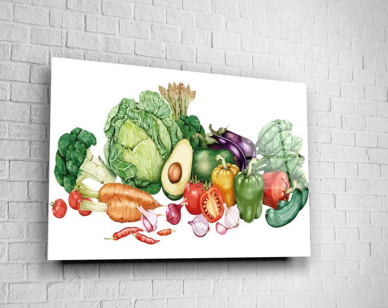 Dekor Home Büro Grün küche Leinwand Kunst Geschenk Glas E ...